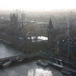 Houses of Parliament from the London Eye