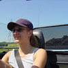 Catherine in the MX5