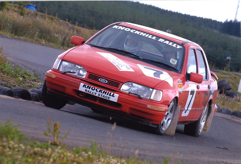 Sierra Rally at Knockhill