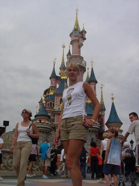 Catherine at Disneyland
