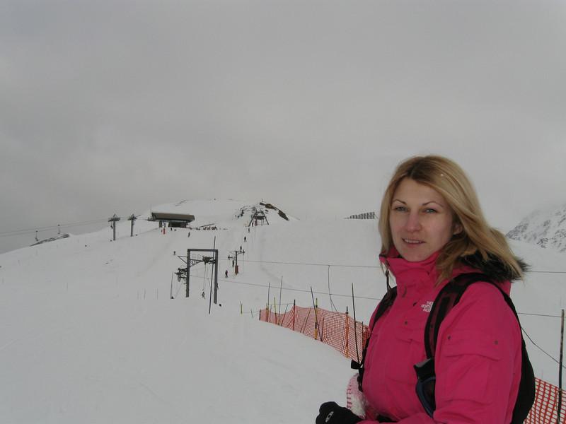 Catherine at the Domaine du Balme