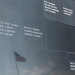The astronaut memorial at KSC. Naming (among others) crew from Apollo 1, Challenger and Columbia