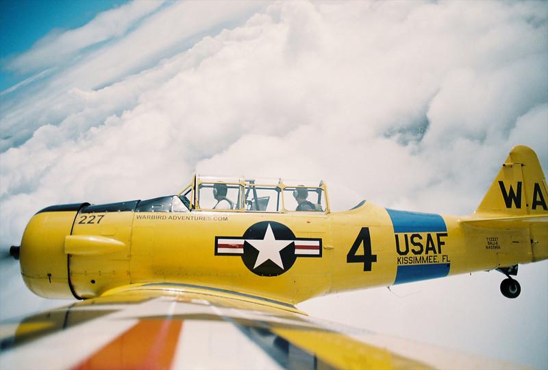 Warbird Adventures Texan SNJ-6 Texan - still, it's really a Harvard!