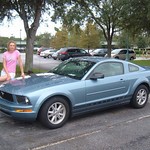 The Rental Mustang - You've got to love those sidestripes!