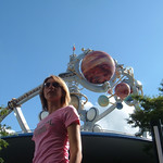 Catherine at Disney's Tommorowland