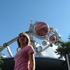 Catherine at Disney's Tommorowland