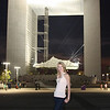 Catherine and La Grande Arche