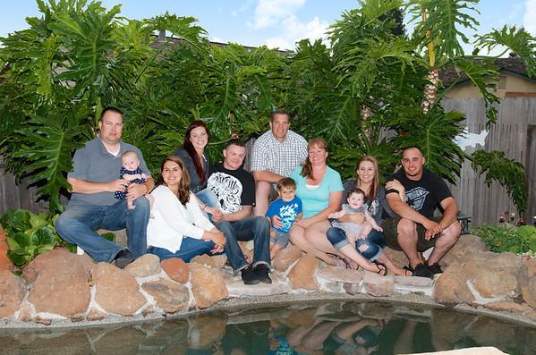 Rohner/Bakken/Morgan Family Portraits