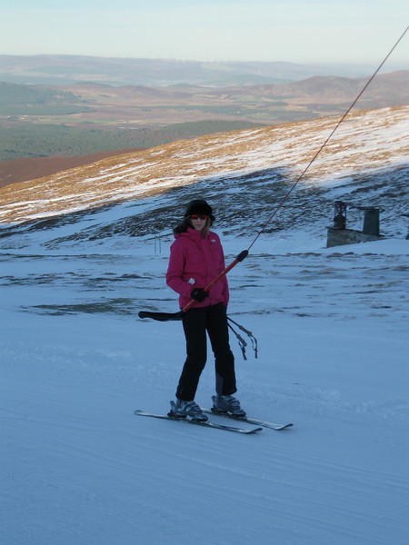 Catherine looking effortless on the Ciste T-Bar