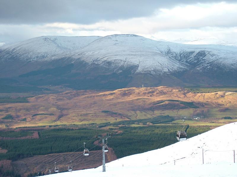 Overlooking the Great Glen