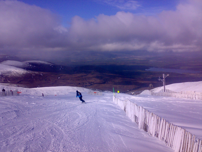 Back on Cairngorm with good snow conditions