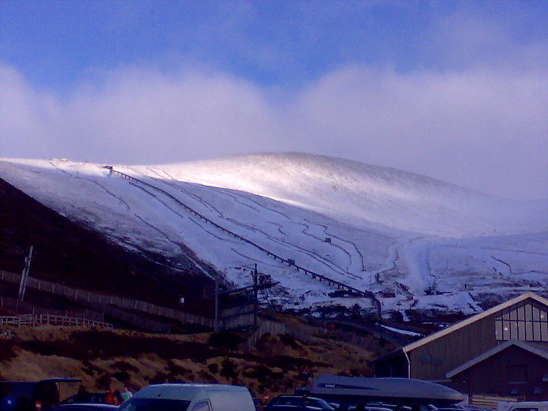 A nice clear afternoon on Cairngorm