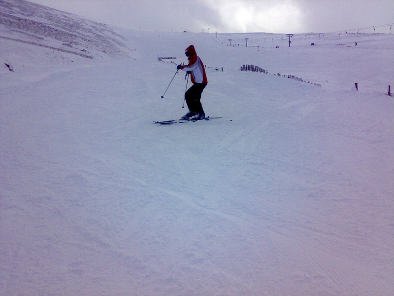 Catherine on the Goose at Nevis