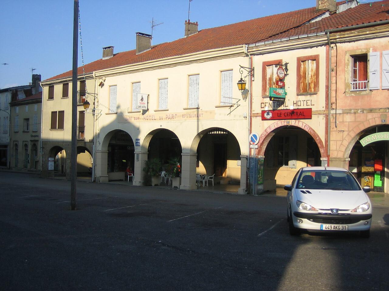 Hotel we stayed in Boulogne-sur-la-Gesse