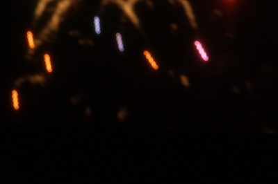 More Blurred Fireworks