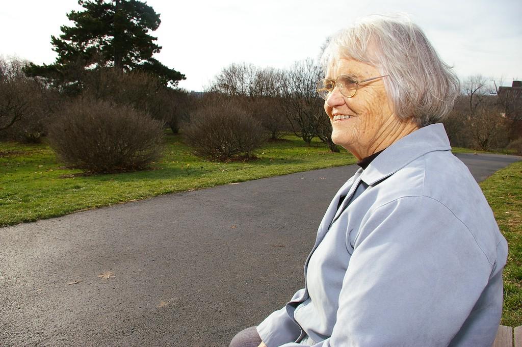 My Grandmother at Highland Park