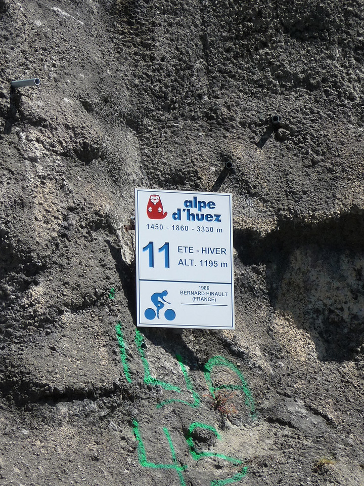 Our switchback sign - #11.