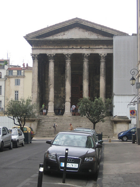 Another Roman building. Location - Nimes