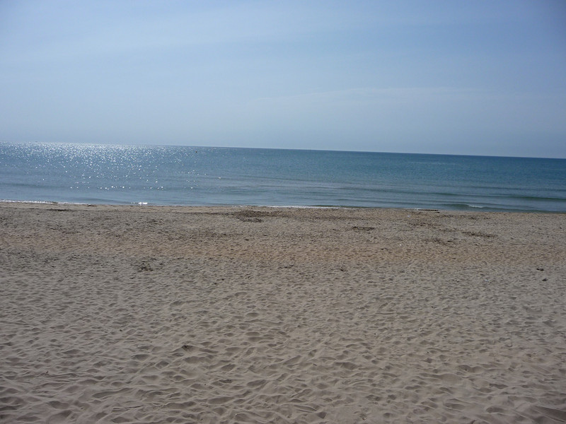 20km White sand beach between Cap D'Agde and Sete.
