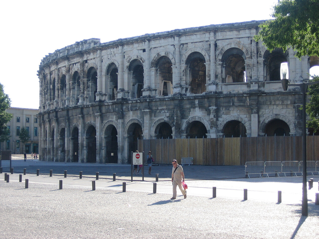 Bull fighting coliseum built in 1st century BC. Location - Nimes
