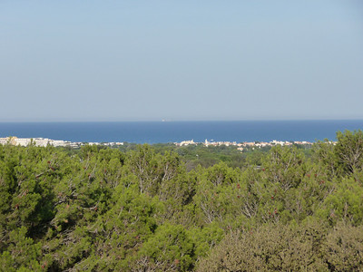 First glimpse of the Mediterranean Sea. Location - Cap D'Agde