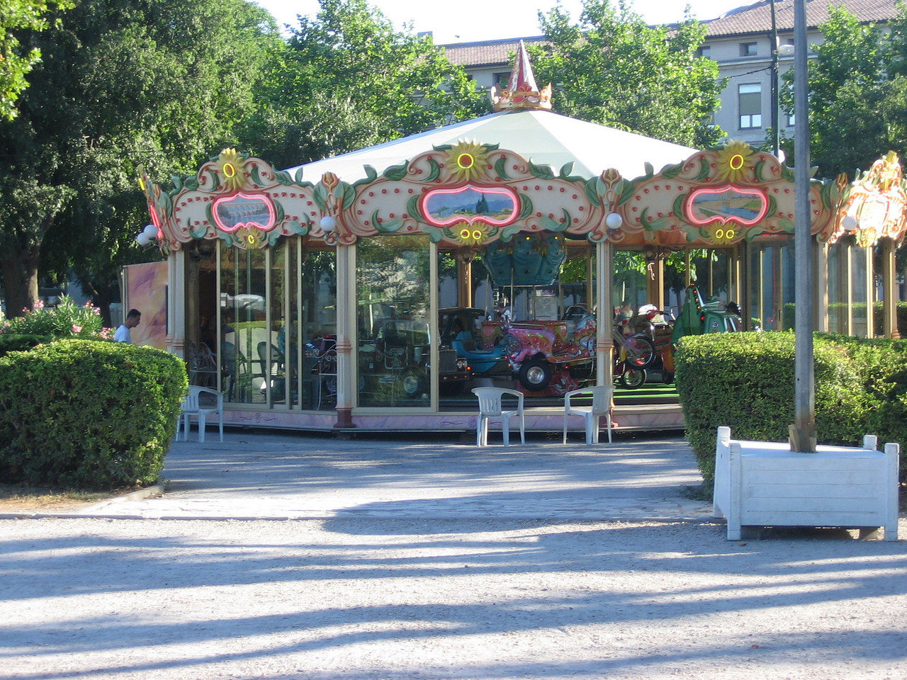 Every french town seems to have at least 1 carosel.
