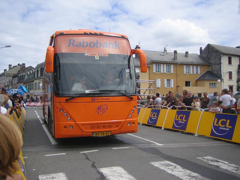 Everywhere we went, everybody loves Rabobank.