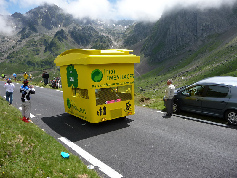 You don't see that everyday. Location - Col du Tourmalet