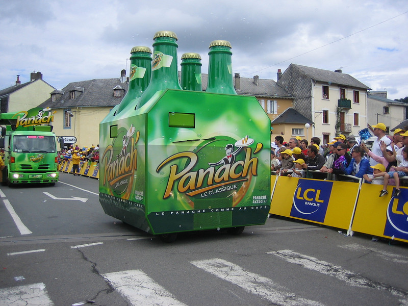 How do you get a job driving a 4-pack of Panach through France for 3 weeks?