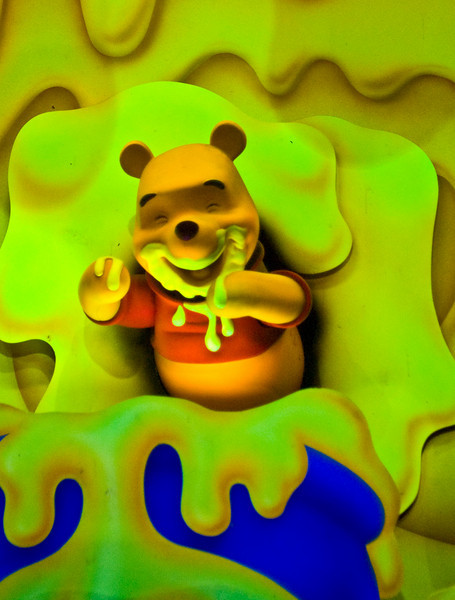 the winnie the pooh ride is the place to go if you are heavily dosed on psychedelic drugs.