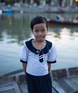 Little girl in Vietnam