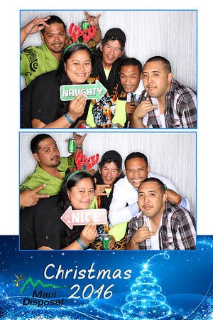 Maui Disposal's Holiday Party 2016