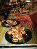 The starters at Uncle Rob's cafe for Christmas Day