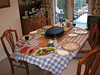 Ready for my brother's birthday raclette meal