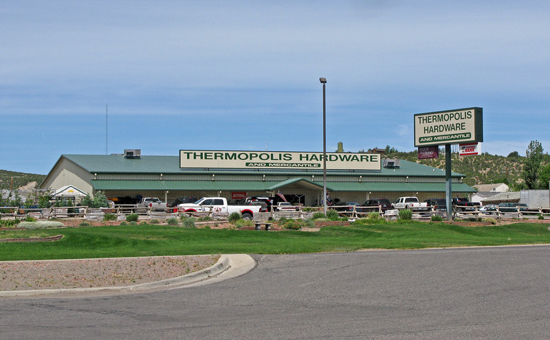 Thermopolis, Wyoming .......renowned for having 'The Largest Hot Springs In The World'