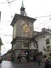 Bern - the Zytglogge clock tower, west face.