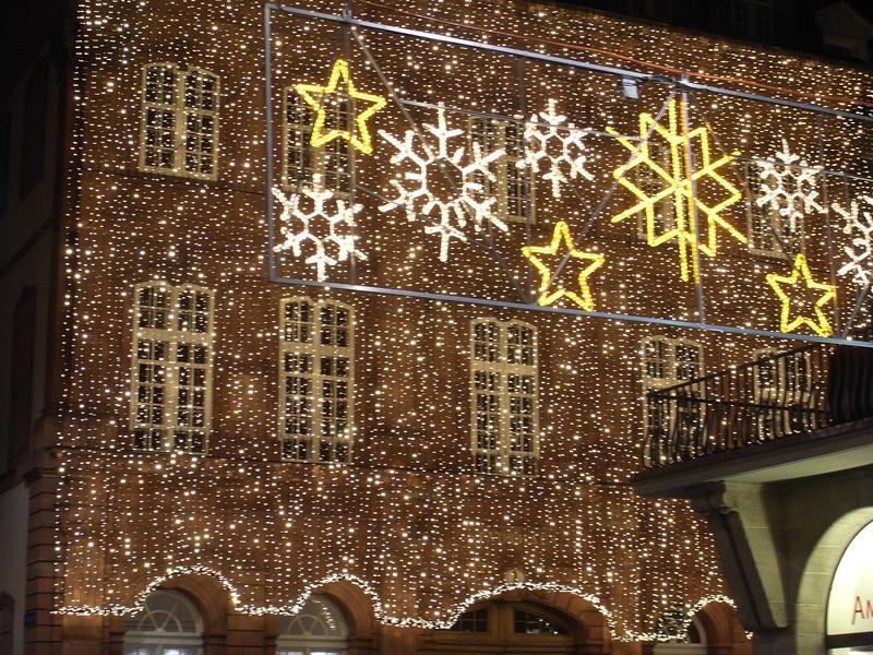 Decorations near Marktplatz, Basel.