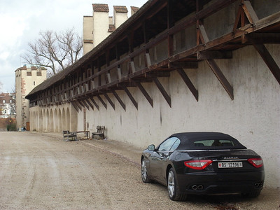 Basel city walls