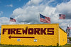 D183-2014  The rear of the Uncle Sam's Fireworks Store.<br /> <br /> Located off U.S. 23 at the first exit north of the Ohio/Michigan border.<br /> Taken July 2, 2014