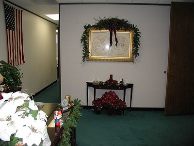 Office Lobby  - decorated