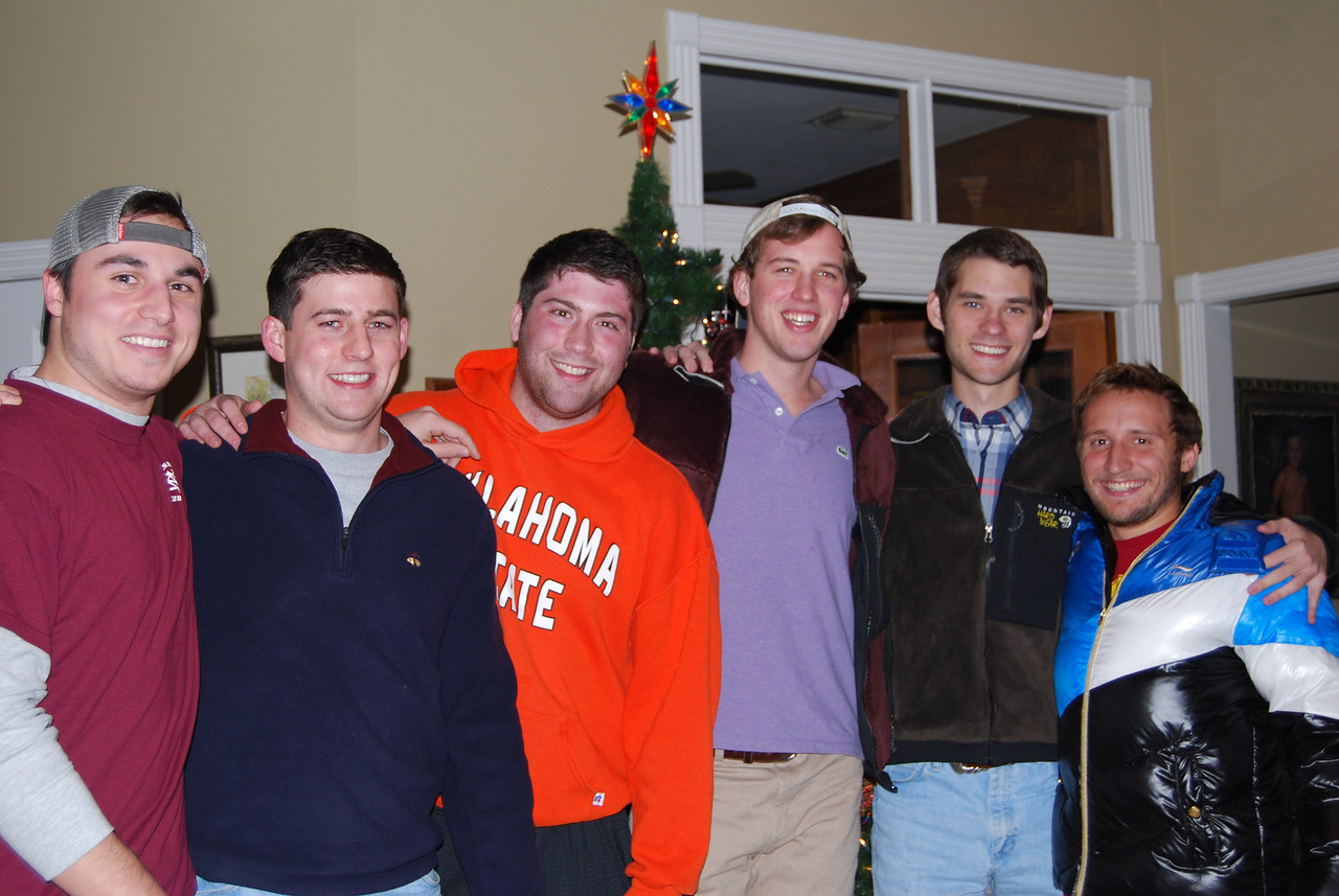 good one guys.  you are all sooo handsome. Chris, Ian, Jason, Jack, Brad & Harrison.