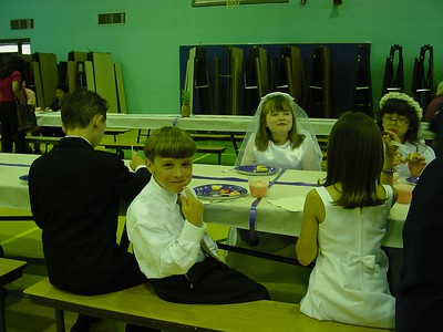 Getting Ready before 1st Communion