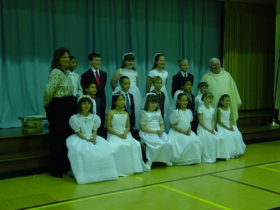 1st Communion Class 2002 - St Edward's Catholic School