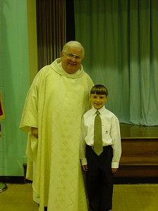 Connor w/ Father Geitle