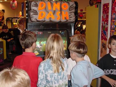 Dino Dash Crowd
