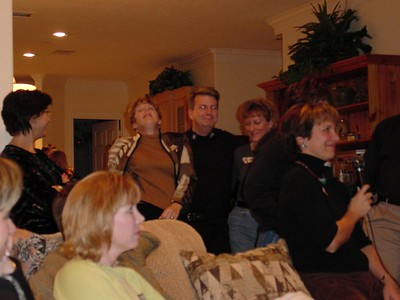 Pattie, Chris & Cathy dance and sing backup while Jeanne sings
