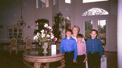 Harrison, Grandma, Connor & Hayden