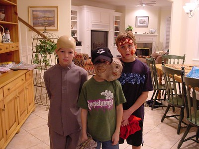 """Hayden - """"Mini Me"""", Connor """"Two Faces"""", Harrison """"Hand In Face"""""""