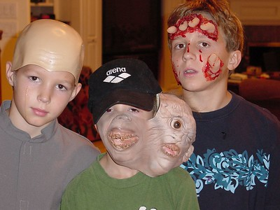 """Hayden - """"Mini Me"""", Connor """"Two Faces"""", Harrison """"Hand In Face""""  - Close up"""