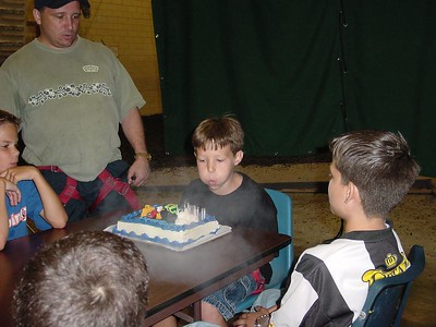 Birthday Cake - Blowing Out